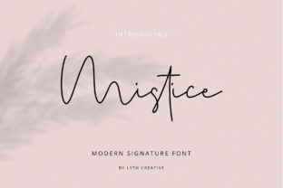 Mistice Font By lyanatha