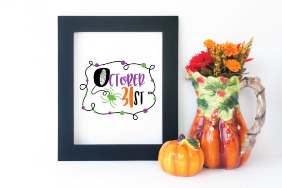 Download Free October 31st Graphic By Oldmarketdesigns Creative Fabrica for Cricut Explore, Silhouette and other cutting machines.
