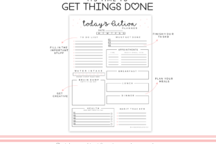 Print on Demand: Printable Planner Insert Page Graphic Crafts By RainbowGraphicx  3
