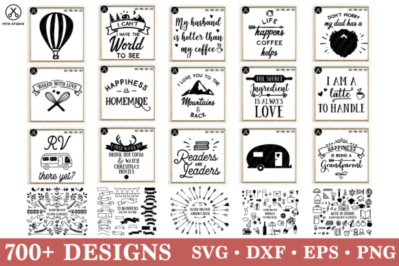 Download Free Kids Bundle Graphic By 19th Studio Svg Creative Fabrica for Cricut Explore, Silhouette and other cutting machines.
