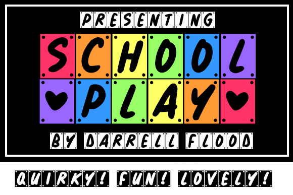 Print on Demand: School Play Decorative Font By Dadiomouse