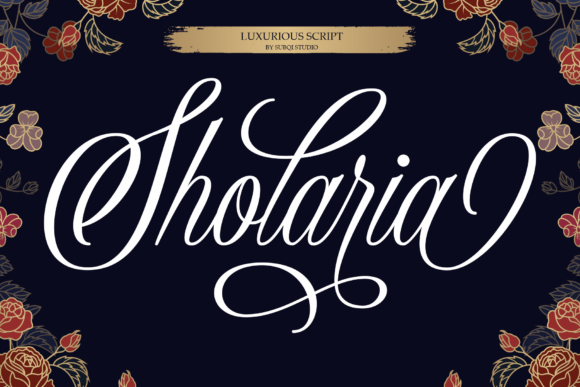 Sholaria Font By Subqi Std Image 1