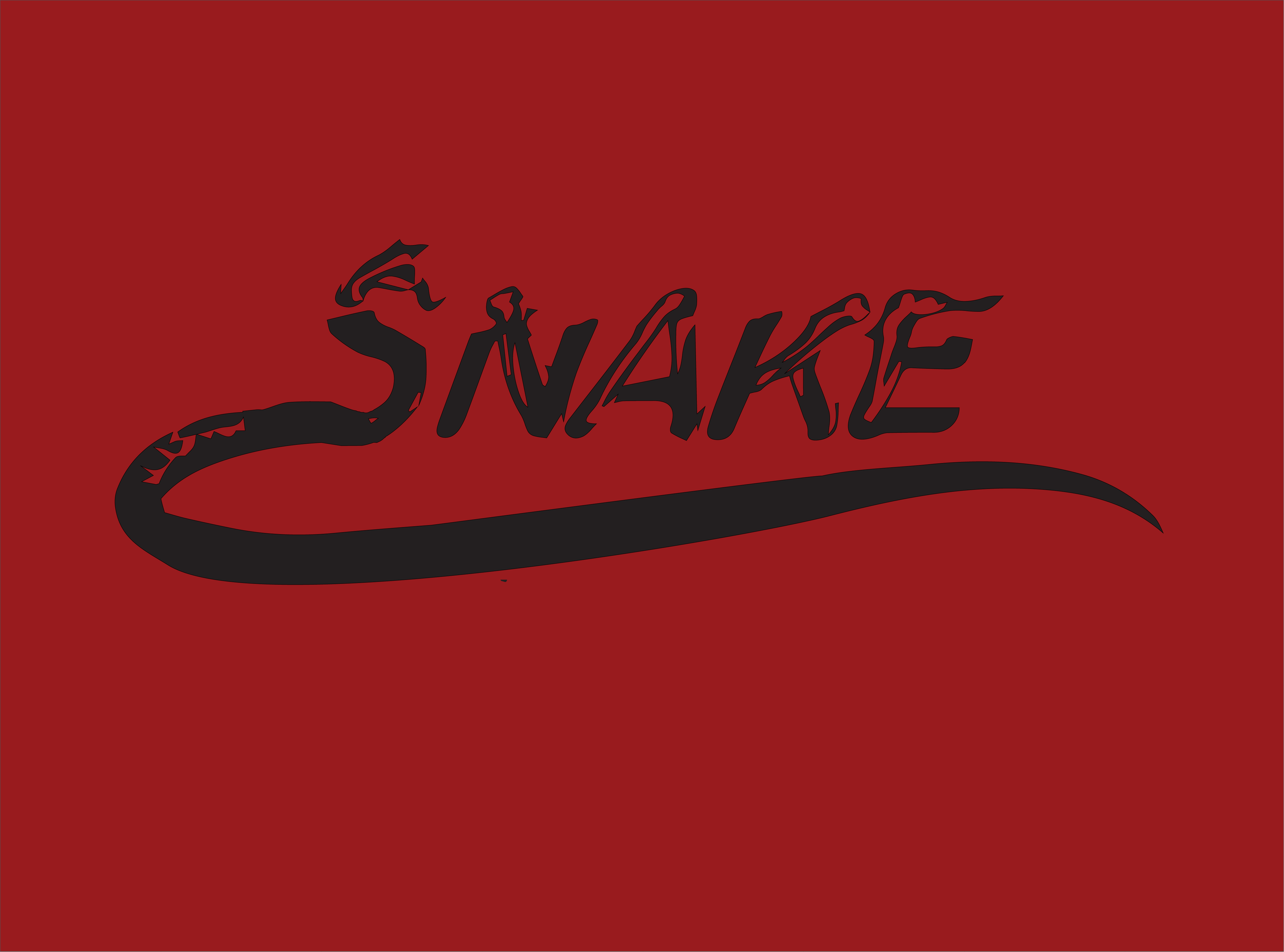 Download Free Snake Graphic By Mamplanglaut Creative Fabrica for Cricut Explore, Silhouette and other cutting machines.