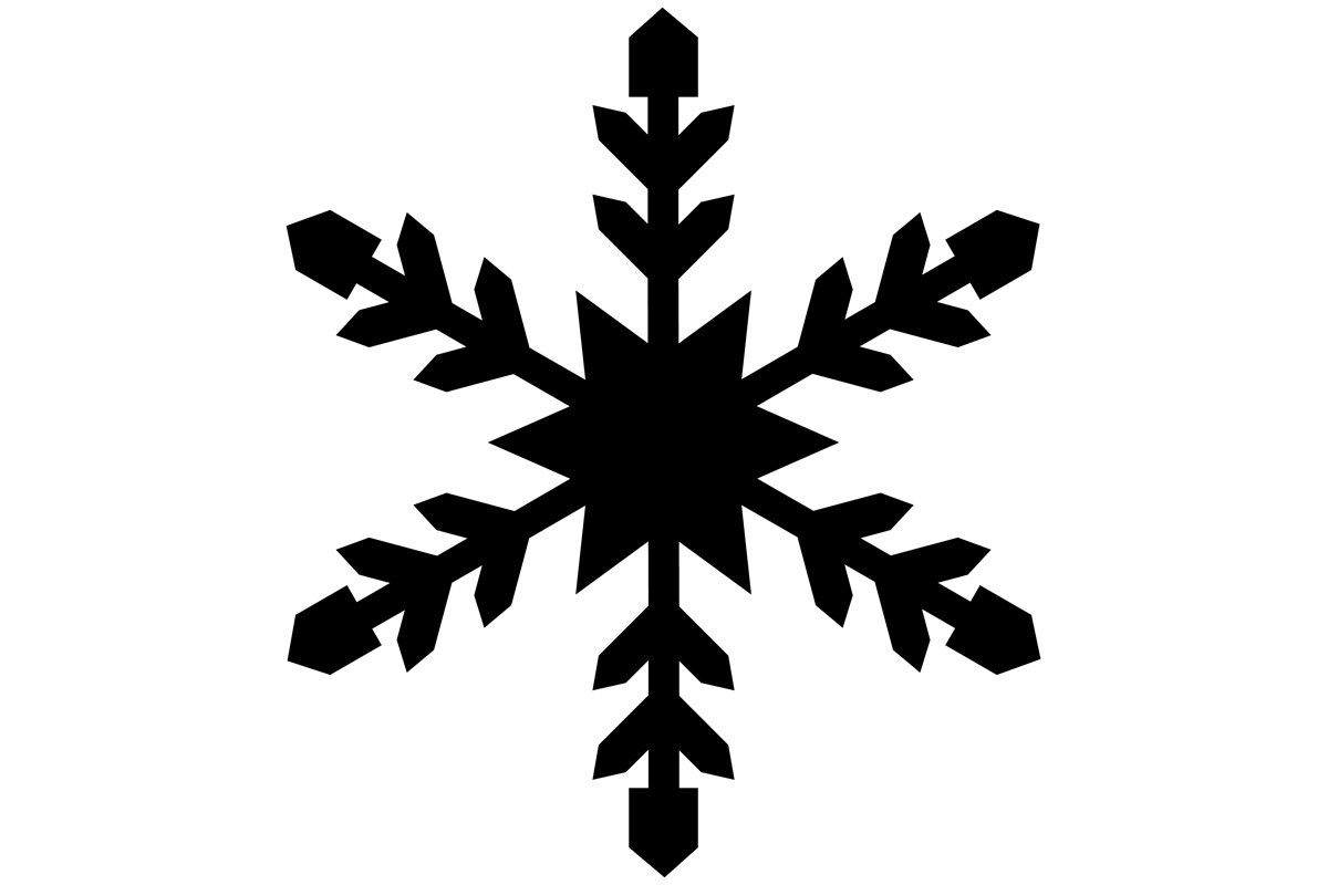 Download Free Snowflake Graphic By Idrawsilhouettes Creative Fabrica for Cricut Explore, Silhouette and other cutting machines.