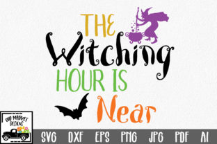 The Witching Hour is Near Graphic By oldmarketdesigns