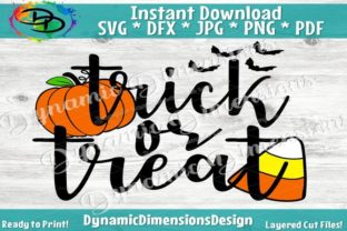 Trick or Treat Graphic By dynamicdimensions