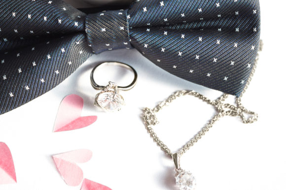 Wedding Composition Pink Hearts and Ring Graphic Beauty & Fashion By fleurartmariia