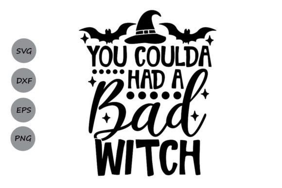 Print on Demand: You Coulda Had a Bad Witch Graphic Crafts By CosmosFineArt