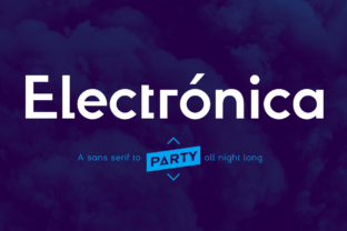 Electrónica Family Font By Graviton Font Foundry