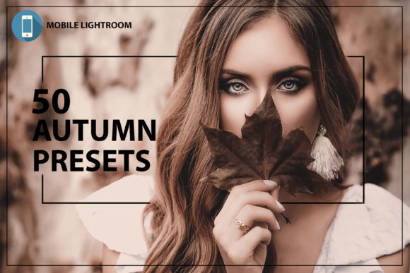Print on Demand: 50 Autumn Mobile Lightroom Presets Graphic Actions & Presets By 3Motional