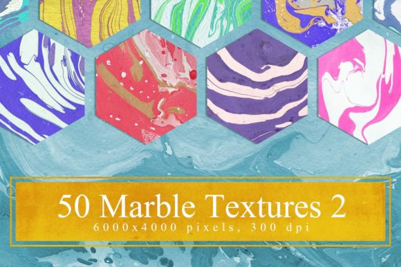 50 Marble Textures Part 2 Graphic Textures By NassyArt - Image 1