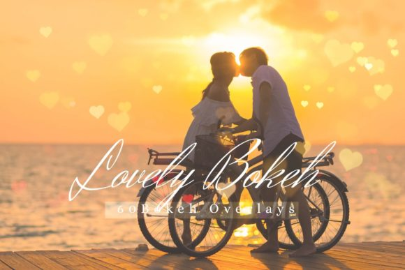 Download Free 60 Lovely Bokeh Pack 02 Graphic By 3motional Creative Fabrica for Cricut Explore, Silhouette and other cutting machines.
