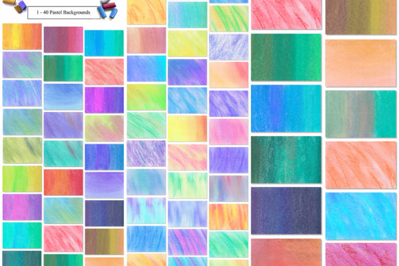 80 Pastel Backgrounds Graphic By NassyArt Image 2
