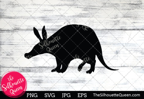 Download Free Aardvark Silhouette Graphic By Thesilhouettequeenshop Creative for Cricut Explore, Silhouette and other cutting machines.