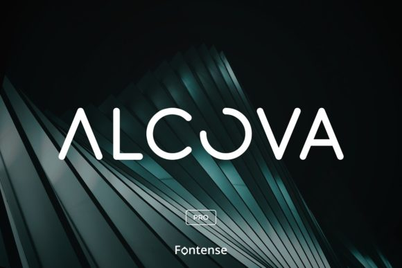 Print on Demand: Alcova Pro Display Font By themesocio
