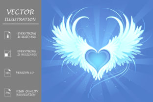 Angel Heart Graphic By Blackmoon9