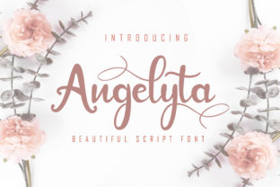 Angelyta Font By Skiiller Studio