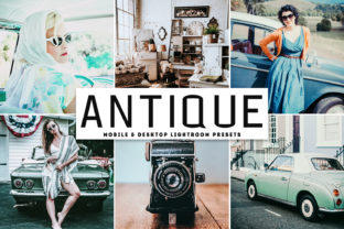 Antique Lightroom Presets Pack Graphic By Creative Tacos