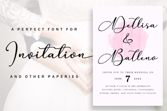 Print on Demand: Anything Script Script & Handwritten Font By aldedesign - Image 5