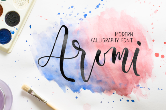 Print on Demand: Aromi Script & Handwritten Font By Letteratom