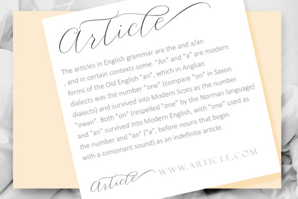 Print on Demand: Article Script Script & Handwritten Font By Sulthan Studio - Image 10
