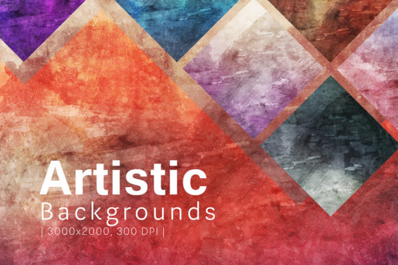 Print on Demand: Artistic Backgrounds Graphic Backgrounds By freezerondigital