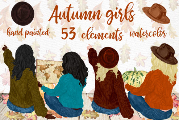 Autumn Clipart Graphic Illustrations By LeCoqDesign