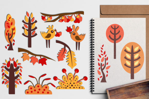 Print on Demand: Autumn Graphic Illustrations By Revidevi - Image 1