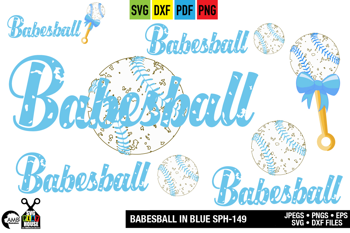 Download Free Babesball Graphic By Ambillustrations Creative Fabrica for Cricut Explore, Silhouette and other cutting machines.