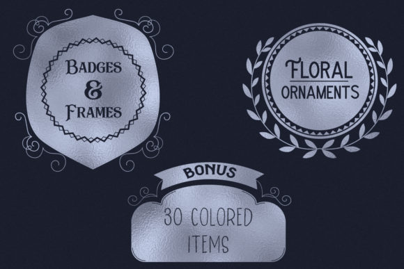 Print on Demand: Badges & Frames SVG Cut Files - 30 Items Graphic Crafts By tatiana.cociorva - Image 3