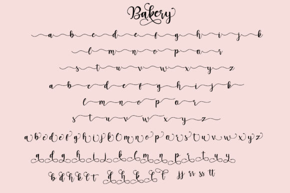 Bakery Font By star studio Image 11