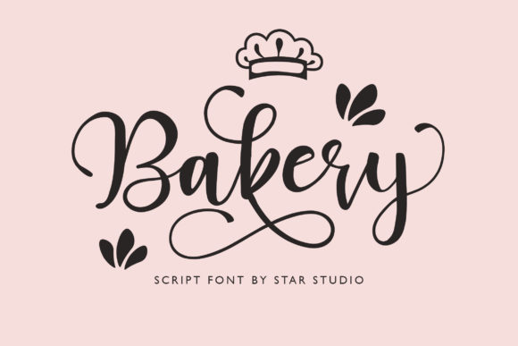 Bakery Font By star studio Image 1