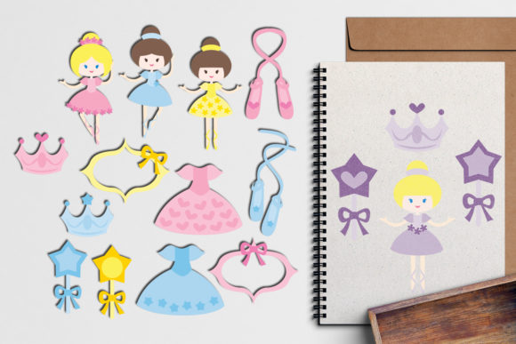 Print on Demand: Ballerina Graphic Illustrations By Revidevi