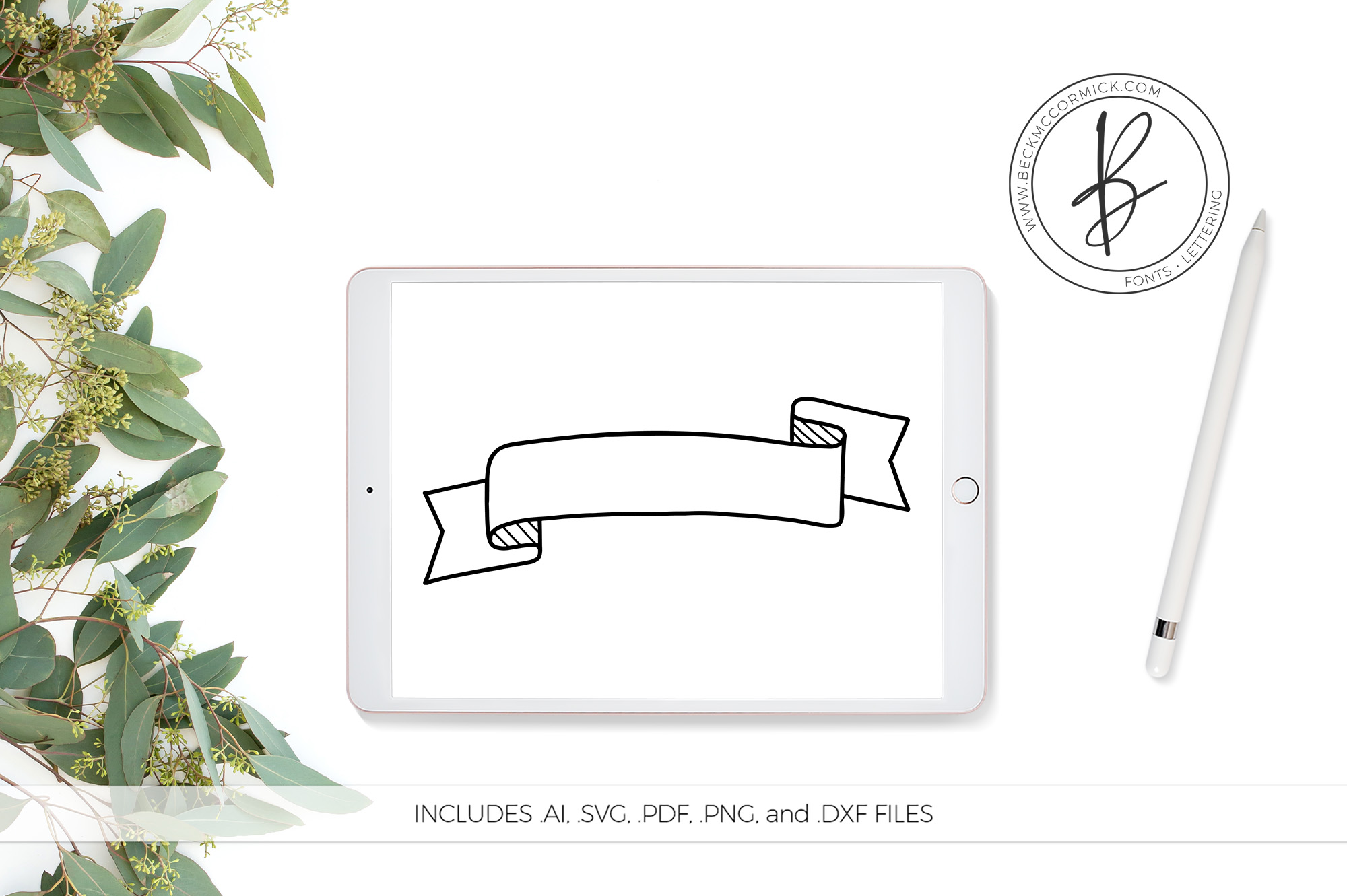 Download Free Banner Grafico Por Beckmccormick Creative Fabrica for Cricut Explore, Silhouette and other cutting machines.
