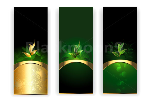 Banners with Tea Graphic Graphic Templates By Blackmoon9