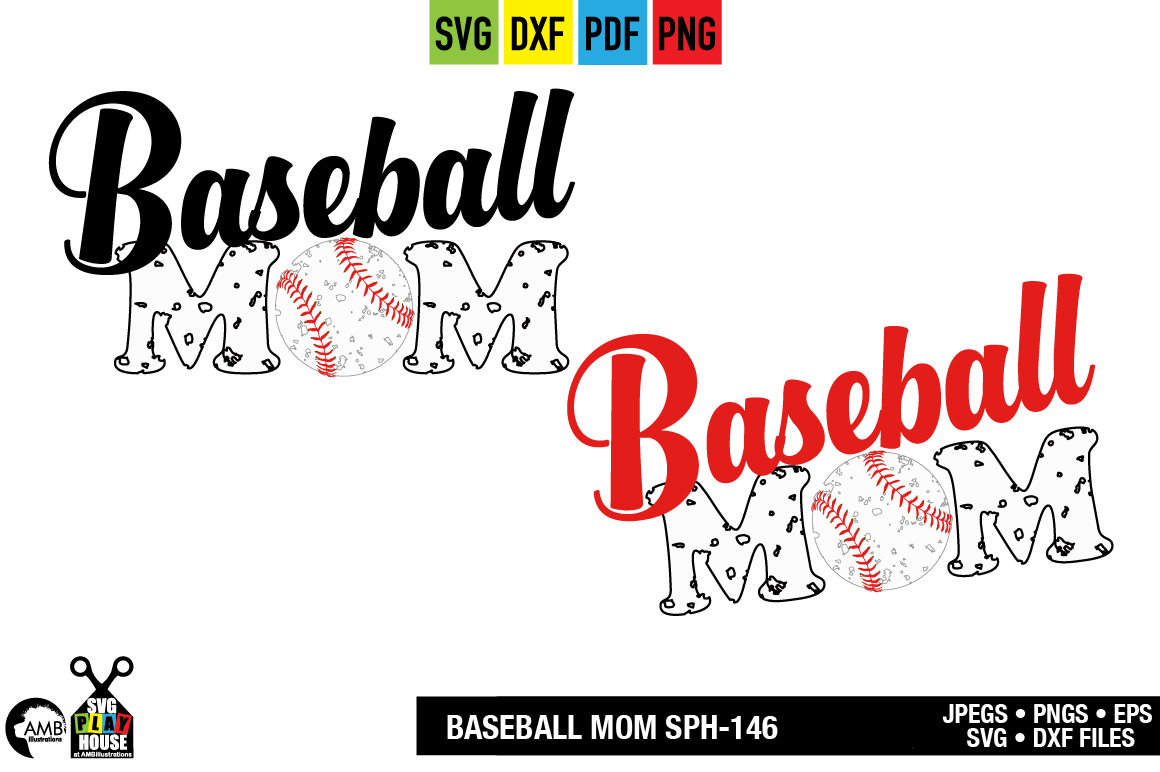 Download Free Baseball Mom Graphic By Ambillustrations Creative Fabrica for Cricut Explore, Silhouette and other cutting machines.