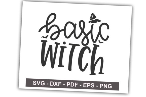 Print on Demand: Basic Witch Graphic Crafts By svgbundle.net