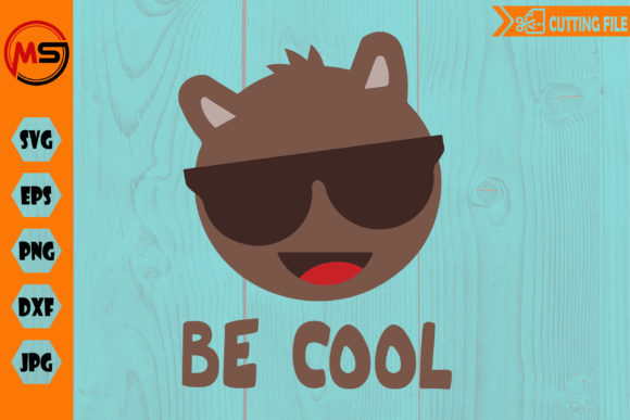 Be Cool Llama Sun Glasses Graphic Illustrations By Crafty Files
