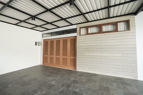 Beautiful Garage for a Comfortable Home Graphic Architecture By Qasas77