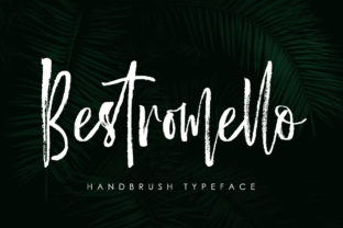 Bestromello Font By luckytype.font