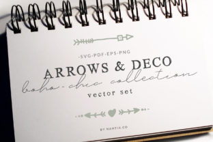 Boho-Chic Arrows & Deco Vector Pack Graphic By nantia