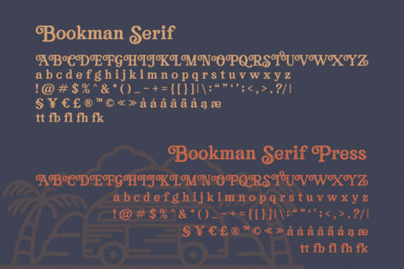 Bookman Font By RedyStudio Image 11