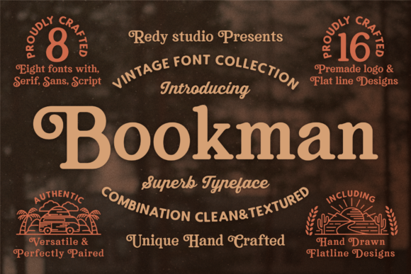 Print on Demand: Bookman Display Font By RedyStudio