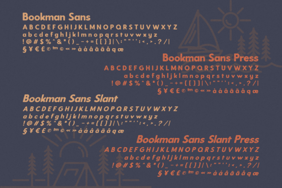 Bookman Font By RedyStudio Image 9
