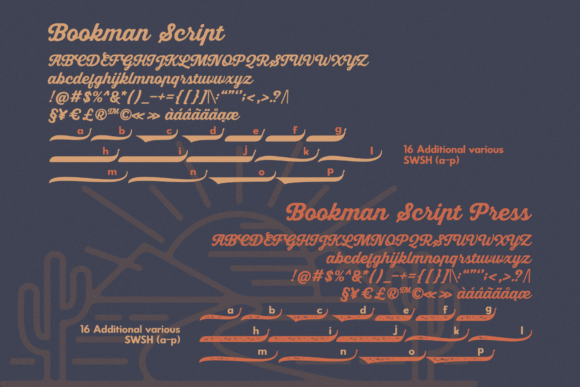 Bookman Font By RedyStudio Image 10
