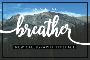 Breather Font By Musafir LAB
