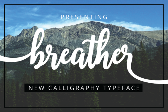 Print on Demand: Breather Script & Handwritten Font By Musafir LAB - Image 1