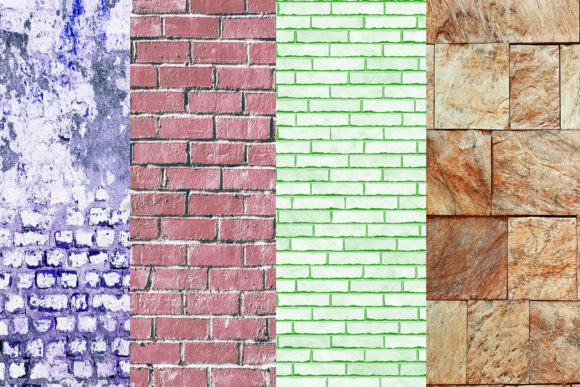 Brick Wall Digital Papers Wall Textures Graphic By damlaakderes Image 4
