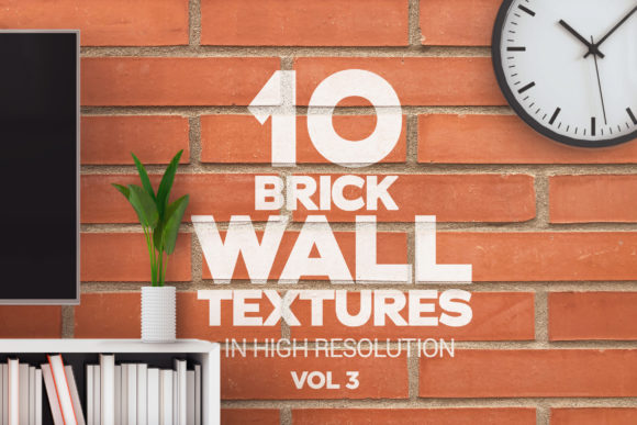 Brick Wall Textures X10 Vol3 Graphic Textures By SmartDesigns