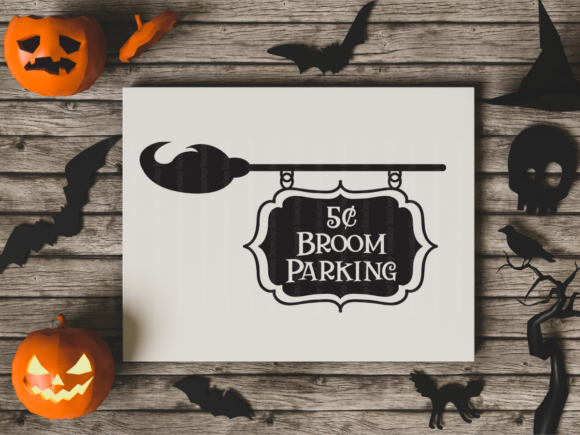Broom Parking Graphic By ElsieLovesDesign Image 3